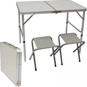 table camping avec pieds réglables TOP 4 image 0 produit
