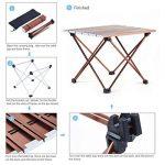 table camping avec pieds réglables TOP 9 image 4 produit