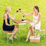 table camping bois TOP 14 image 1 produit