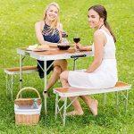table camping bois TOP 14 image 2 produit