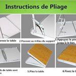 table camping pliable pied réglable TOP 9 image 4 produit