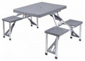 table camping pliante 4 tabourets TOP 0 image 0 produit