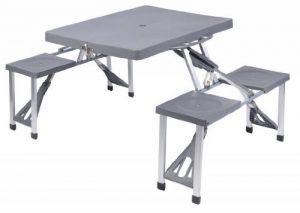 table camping pliante 4 tabourets TOP 1 image 0 produit
