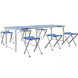 table camping pliante 4 tabourets TOP 8 image 0 produit