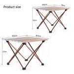 table camping pliante pied réglable TOP 12 image 1 produit