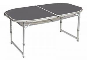 table camping pliante pied réglable TOP 5 image 0 produit