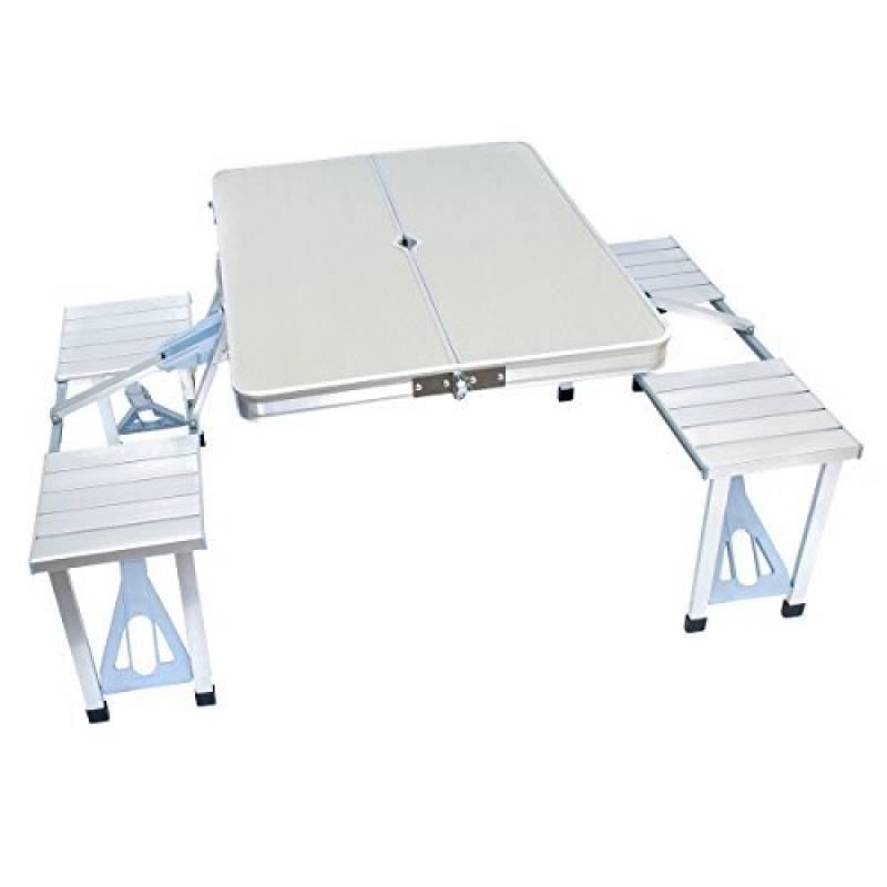 Tables Goods & Gadgets Table Pliante Table de Camping Pliant ...