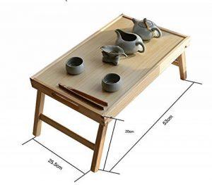 Table pliante en bois Kang Petite tablette carrée Table basse table d'après-midi ( taille : Les petites ) de la marque image 0 produit