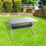 Table Roll Table de camping en aluminium Titane Space 2, convient pour 6personnes, 140x 80x H70cm, aluminium de la marque Camp 4 image 1 produit