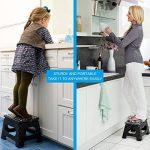 Tabouret pliable Plastique De Façon Panier Poids jusqu'à 150kg, 30*22*23cm de la marque Heim & Elda image 2 produit