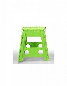 Tabouret pliant vert 40x39x32 de la marque Camacho image 0 produit