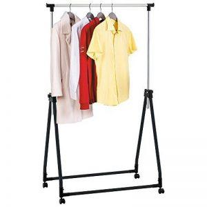 Tatkraft Halland Portant Pour Vêtements Pliable Acier Chrome 89X49X99-167cm de la marque Tatkraft image 0 produit