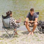 TecTake Chaise de Camping Fauteuil Pliable avec Porte-Boisson et Sac de Transport - diverses couleurs et quantités au choix - de la marque TecTake image 6 produit