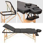 TecTake Table de massage Table de massage pliante 3 zones banque bourse-disponible en différentes couleurs de la marque TecTake image 2 produit