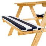 TecTake Table de pique-nique avec coussins meubles enfants bois - diverses couleurs au choix - de la marque TecTake image 2 produit