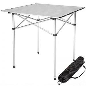 TecTake Table pliante de camping jardin BBQ barbecue pique-nique portable en aluminium de la marque TecTake image 0 produit