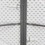 Todeco - Table Pliante Transportable, Table en Plastique Robuste - Matériau: HDPE - Charge maximale: 100 kg - 180 x 76 cm, Blanc, Pliable en deux de la marque Todeco image 3 produit