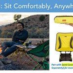 Trekology Portable Compact Chaise de camping avec hauteur réglable–ultraléger backpacking Chaise dans un sac pour le camping, la pêche, pique-nique, terrasse, Sports, événements, de la marque Trekology image 1 produit