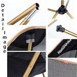 Triwonder randonnée de camping pliable Chaises Chaise de camping Quad – Trois types de six Couleurs de la marque TRIWONDER image 2 produit