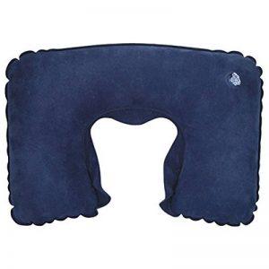 TRIXES Coussin de nuque repose tête /oreiller gonflable pour voyage bleu de la marque TRIXES image 0 produit