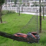 TRIXES Hamac nylon mini de voyage vert armée pour camping ou jardin de la marque TRIXES image 1 produit