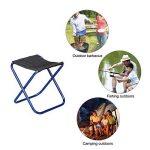 Ultra light aluminum outdoor folding chair Portable comfortable stool Leisure fishing chair de la marque Prom-near image 3 produit