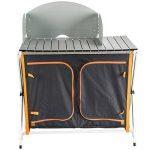 Ultrasport Cuisine de Camping - Armoire Pliable, 3 Compartiments, Surface de Travail avec Coupe-vent et Sac de Rangement de la marque Ultrasport image 1 produit