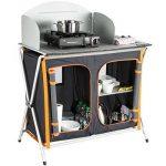 Ultrasport Cuisine de Camping - Armoire Pliable, 3 Compartiments, Surface de Travail avec Coupe-vent et Sac de Rangement de la marque Ultrasport image 3 produit