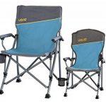 Uquip Kirby Chaise de Camping pour Enfant Pliable – Avec Protection Anti-Pincement et Un Porte Boissons – Poids léger de 2Kg et une Capacité de Charge de 60 Kg de la marque Uquip image 3 produit
