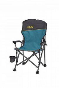 Uquip Kirby Chaise de Camping pour Enfant Pliable – Avec Protection Anti-Pincement et Un Porte Boissons – Poids léger de 2Kg et une Capacité de Charge de 60 Kg de la marque Uquip image 0 produit