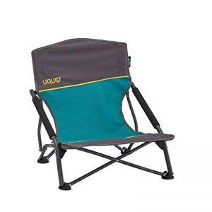 Uquip Sandy – Chaise de Plage Pliante Confortable – Capacité de Charge jusqu'á 120 Kg (17x17x65cm) de la marque Uquip image 0 produit