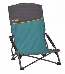 Uquip Sandy Chaise de Plage XL Pliante Confortables – Capacité de Charge jusqu'á 120 Kg (51 x 43cm) de la marque Uquip image 0 produit