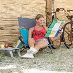 Uquip Sandy Chaise de Plage XL Pliante Confortables – Capacité de Charge jusqu'á 120 Kg (51 x 43cm) de la marque Uquip image 6 produit