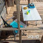 Uquip Variety L Table en Aluminium Pliable pour 4 Personnes (120x70cm) – Réglable en Continu en Hauteur de la marque Uquip image 3 produit