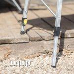 Uquip Variety L Table en Aluminium Pliable pour 4 Personnes (120x70cm) – Réglable en Continu en Hauteur de la marque Uquip image 4 produit