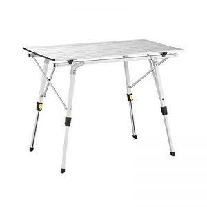 Uquip Variety M Table en Aluminium Pliable pour 4 Personnes (89x53cm) – Hauteur Réglable de la marque Uquip image 0 produit