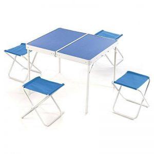 Valise Pic Nic Table pliante à Valise avec chaises pour Camping Plage de la marque Liberoshopping image 0 produit