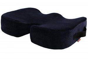 Vector Coussin orthopédique en mousse à mémoire de forme pour soutien du dos, corriger la posture, Soulager la Sciatique et la Pression sur le Coccyx– Idéal pour chaise de bureau, siège de voiture etc de la marque Vector image 0 produit
