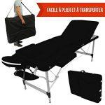 Vivezen ® Table de massage pliante 3 zones en aluminium + Accessoires et housse de transport - 10 coloris - Norme CE de la marque Vivezen image 3 produit