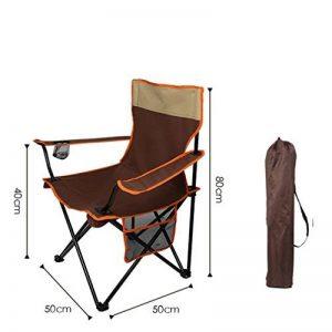 WAOBE Haute Qualité Portable Chaise Pliante Pêche Extérieure Plage Loisirs Chaise Simple Croquis Directeur Picnic Banc, B de la marque WAOBE image 0 produit