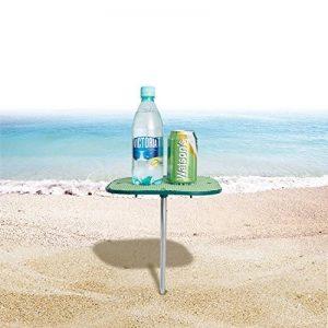 WEJOY table extérieure portative de plage avec la surface antidérapante empêche des renversements et des glissements, facile à porter et à stocker de la marque WEJOY image 0 produit