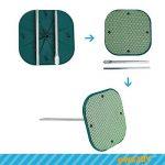 WEJOY table extérieure portative de plage avec la surface antidérapante empêche des renversements et des glissements, facile à porter et à stocker de la marque WEJOY image 4 produit