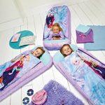 Worlds Apart La Reine des Neiges - Lit junior ReadyBed - lit d'appoint pour enfants avec couette intégrée de la marque Worlds Apart image 1 produit