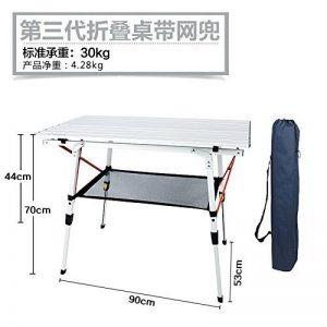 Xing Lin Table D'Extérieur Table Pliante En Aluminium Portable Extérieur Barbecue Pique-Nique Camping Ultra Light Table Et Chaises Table De Décrochage de la marque xing lin image 0 produit