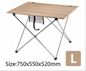 Xing Lin Table D'Extérieur Table Pliante Portable En Aluminium Piscine Barbecue Pique-Nique Table Ultra Léger Décrochage Toile Amovible Chaises Et Tables de la marque xing lin image 0 produit