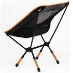 Xopro Chaises de camping–Ultra Light Camp Chairheavy Duty pliable randonnée Tabouret Orange Lot de 1 de la marque XOPRO image 1 produit