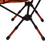 Xopro Chaises de camping–Ultra Light Camp Chairheavy Duty pliable randonnée Tabouret Orange Lot de 1 de la marque XOPRO image 3 produit