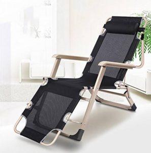ZCJB Chaise Longue Pliante Siesta Lit Bureau Multifonctionnel Lit Lounger Ménage Frais Chaises Escapade D'été Siesta Chaise de la marque ZCJB image 0 produit