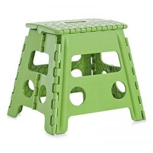 Zeller 99166 Tabouret pliant en plastique vert, 37 x 30 x 32 cm de la marque Zeller image 0 produit