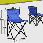 zhbotaolang Chaise Pliante En Plein Air Camping Portable Retour Plage Chaises PÊChe Peinture Ultralight Petit Tabouret de la marque zhbotaolang image 1 produit